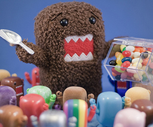 domo, candy, and cute image