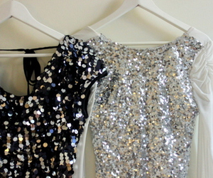 clothes, glitter, and fashion image