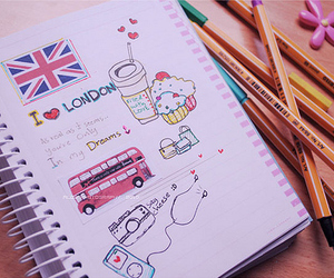 london and drawing image