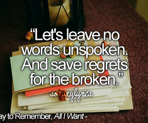 Lyrics, a day to remember, and music image