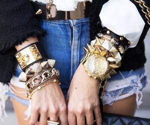 fashion, bracelet, and watch image