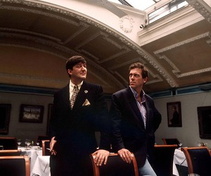 hugh laurie and stephen fry image