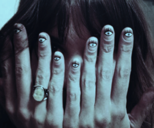 eyes and hand image
