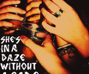 girl, alcohol, and kings of leon image