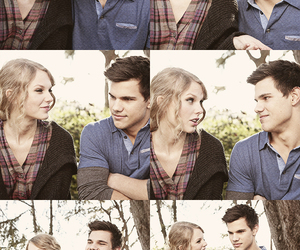 Taylor Lautner, Taylor Swift, and couple image