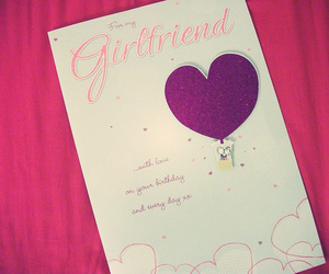 birthday, card, and heart image