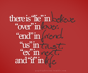 life, friends, and believe image