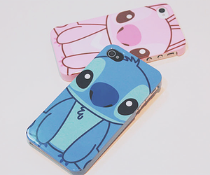 sticht, iphone case, and cute image