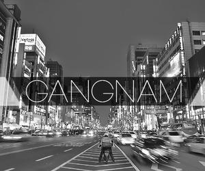 korea, gangnam, and city image
