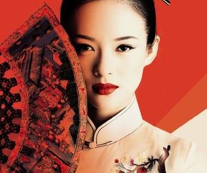 asian, beauty, and geisha image