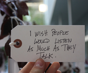 quotes, people, and listen image