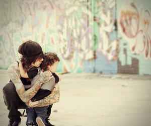 tattoo, boy, and kids image