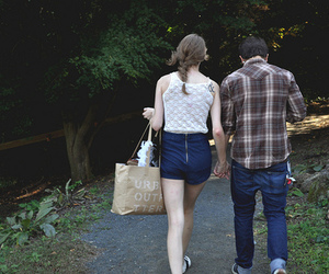 couple, lace, and urban outfitter image