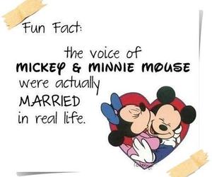 love, disney, and minnie image