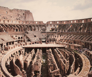 ancient history, roma, and colosseum image