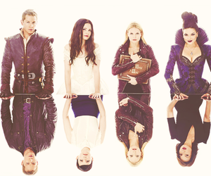 once upon a time, snow white, and emma image