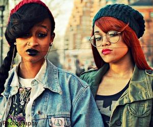 girl, swag, and black girl image