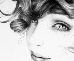 freckles and drawing image