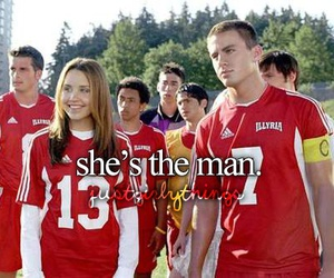 she's the man, movie, and channing tatum image
