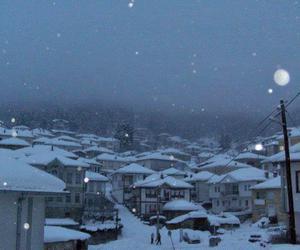 snow, winter, and macedonia image