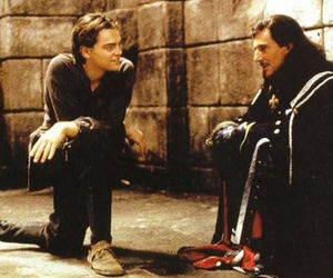 leonardo dicaprio and man in the iron mask image