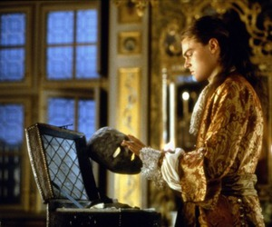 man in the iron mask and leonadro dicaprio image