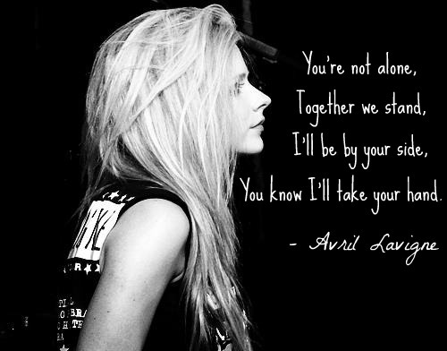 Avril Lavigne Quotes Tumblr On We Heart It