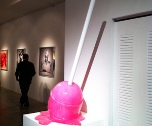 pink, art, and lollipop image