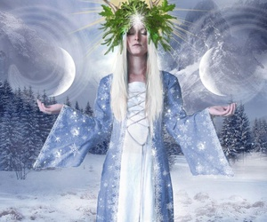 yule and winter solstice image