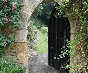 arch, doorway, and gate image