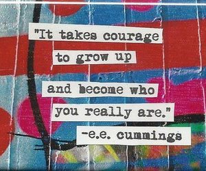 colorful, courage, and words image