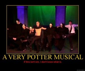a very potter musical, harry potter, and very potter musical image