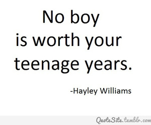 boy, quote, and hayley williams image