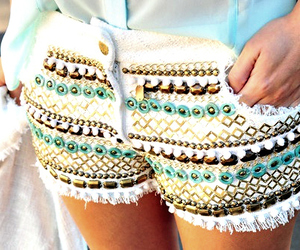 fashion, shorts, and short image