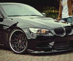 car, black, and bmw image