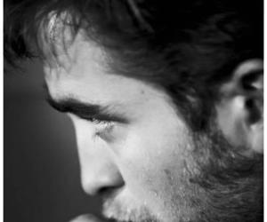 black and white, wonderl4nd, and robert pattinson image