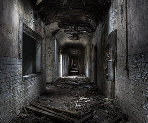 abandoned, decay, and hdr image