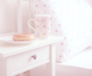 pastel, bed, and vintage image