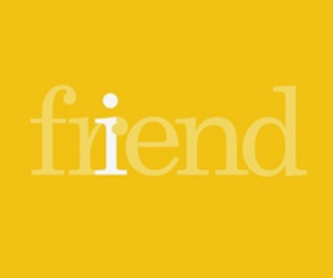 friend, yellow, and text image