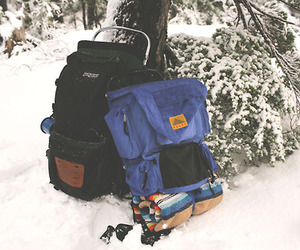 film, hiking, and nature image