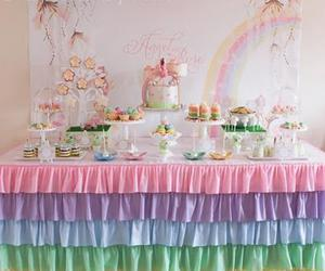 apothecary jars, cupcakes, and party ideas image