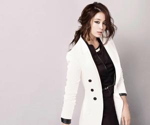 fashion, korean girl, and photoshoot image