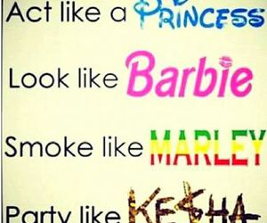 barbie, princess, and kesha image