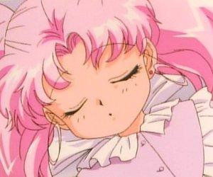 sailor moon, pink, and セーラームーン image