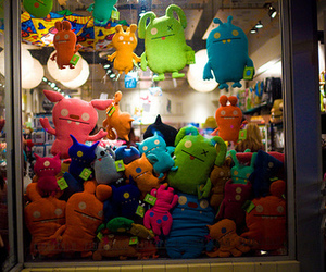 heart, cute, and ugly dolls image