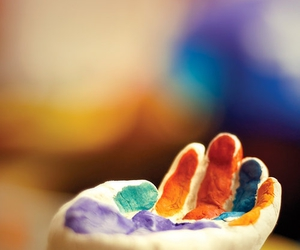 hand, art, and color image
