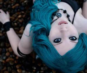 blue, eyes, and Suicide Girls image