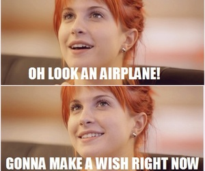airplane, hayley williams, and paramore image