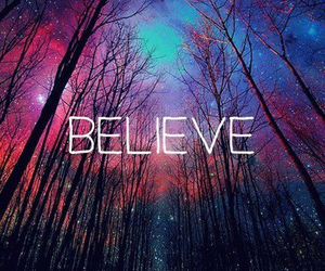 believe and galaxy image