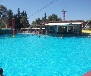 crete, swimming pool, and Greece image
